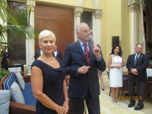 Chairs of the Mayor's Ball, Constance Scott and Jon Kaye