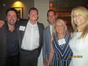 Rosemary O'Mara and family and Margi Helschein