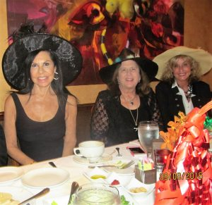 Evelyn Bieber, Dr. Phyllis Perkins and Juli Zeno