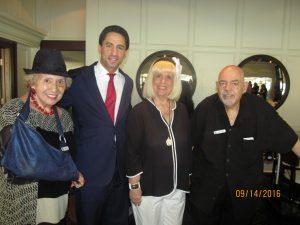 Marlene Forkas, Jeff Dawson, Charlotte Beasley and Barry Epstein