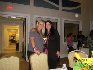 Keri Caston, VP of So. Palm Beach County Jafco chapter and Sylvia Kahana, Pres.