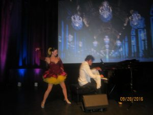 Dancer Edna and Piano Composer Ivann