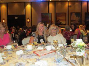 Caroline Kelly and Marilyn Weinberg