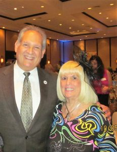Boca Councilman Bob Weinroth with Charlotte Beasley