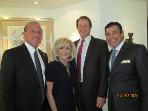 Jordan Zimmerman, Marilyn Weinberg, John Kelly and Peter Baronoff