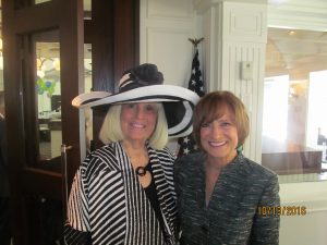 Charlotte Beasley and Susan Cadiotti, former news anchor at CNN.