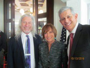David Goldstein, Susan Candiotti and Carlos Romero