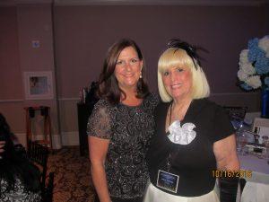 Mayor Susan Haynie and Charlotte Beasley