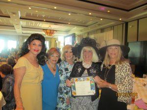 Christine Lynn, Sandi Solomon, Marilyn Weinberg, Charlotte Beasley and Helene Weicholz