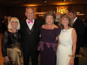 Charlotte Beasley, Bob Weinroth, Arlene Herson and Pam Weinroth