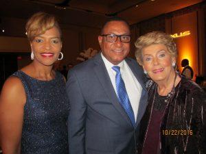 Ava Parker, Joe Gibbons and Yvonne Boice Zucaro