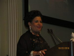 Gladys Williams, New Chamber of Commerce Chairperson