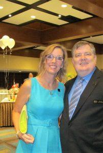 Susan Fedele and Dan Guin, Dir. of  Boca Ballet
