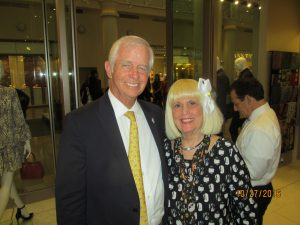 Boca Deputy Mayor, Mike Mullagh and Charlotte Beasley