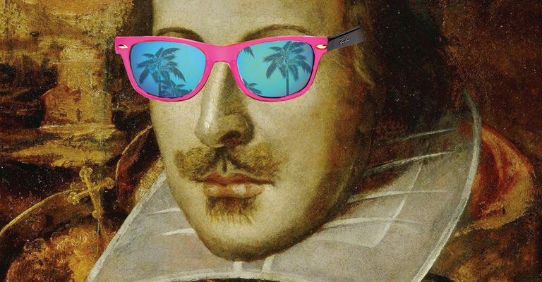 Image result for shakespeare sunglasses