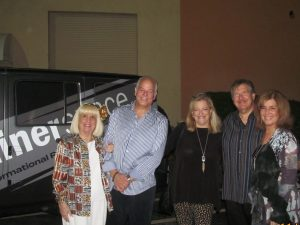 Charlotte Beasley, Jon and Bonnie Kaye, Alan and Renee Kaye