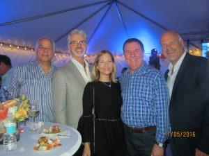 Jon Kaye, Scott Lappin, Renee and David Feder and Randy Colman