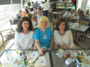 Christine Lynn, Charlotte Beasley and Wendy Baum