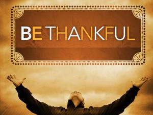 be-thankfull