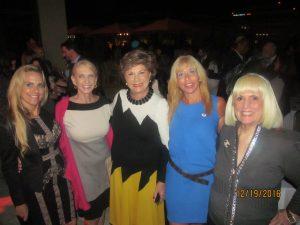 Karen Turk, Arlene Herson, Pam Polani and Charlotte Beasley