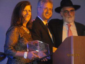 Mayor Haynie, Steve Abrams and Rabbi New