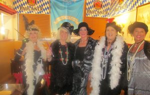Diva's Louise Cammerota, Charlotte Beasley, Magda Ginnis, and Dr. Phyllis Perkins