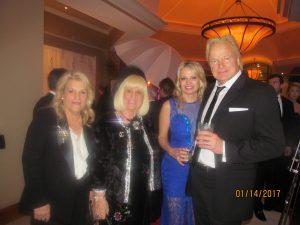 Sue Heller, Charlotte Beasley and Dr. Janne Lomansky