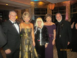 Howard Jacobs, Carol Waldman, Charlotte Beasley, Arlene Herson and Yaacov Heller