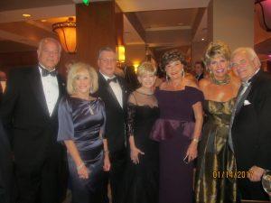 Jon Kaye, Marilyn Weinberg. Howard Jacobs, Rhonda Small, Arlene Herson and Carol Waldman