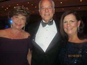 Arlene Herson, Jon Kaye and Mayor Susan Haynie