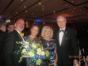 Spencer Siegel, Rachel Huerta, Marilyn and Jay Weinberg