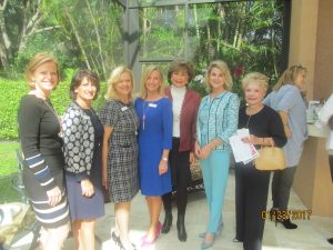 Cindy Krebsbach, Helen Ballerano, Susan Brockway, Karen Sweetaple, Arlene Herson, Kim Champion and Barbara Fisher