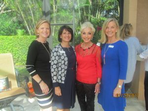 Cindy Krebsbach, Helen Ballerano, Marilyn Swillinger and Karen Sweetapple