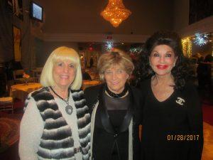 Charlotte Beasley, Marilyn Wick and Christine Lynn