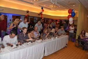 afwc-wine-carnival-wine-challenge-table