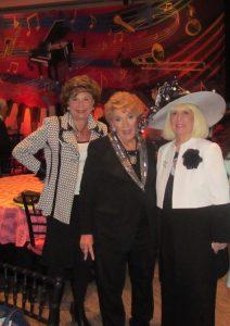 Arlene Herson,, Yvonne Boice and Charlotte Beasley