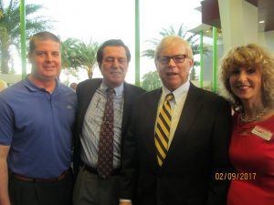Stephen Hinkel. Derek Vander Ploeg, Bill Hager and Pam Weinroth
