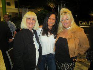 Charlotte Beasley, Eileen Becker and Michelle Bellaseri