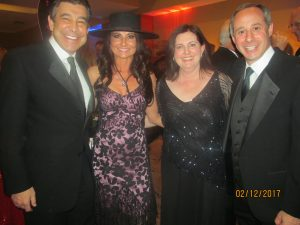 Peter and Carmel Baronoff and Cantor Shapiro