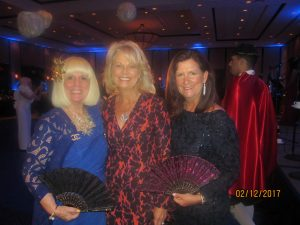 Charlotte Beasley, Barbara Schmidt and Mayor Susan Haynie