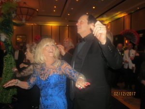 Marilyn Weinberg and Dr. John Kelly, FAU Pres.