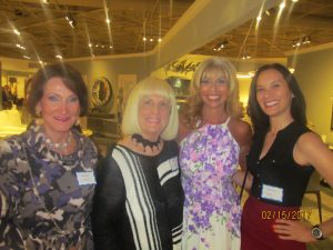 Magda Ginis, Charlotte Beasley, Pam Polani and Kerry Gee