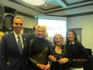 Scott Singer, Patti Carpenter, Rosemary O' Mara and Andrea O'Rourke