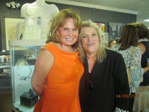 Marta Batmasian and Sue Heller