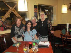 Grace Lewis , Melanie Conley, Nora Kosegarten and Charlotte Beasley
