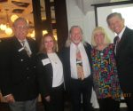 Howard Appell, Tiger Bay Pres., Grace Richy, David Goldstein , Charlotte Beasley and Carlos Romero