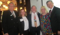 Howard Appell, Tiger Bay Pres., Grace Richy, David Goldstein , Charlotte Beasley and Carlos Romero