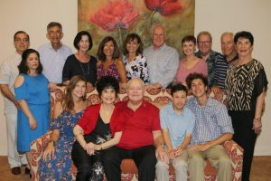 3. Ben and Rosemary Krieger with Family