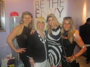 Stephene Hosey, Charlotte Beasley, Danielle Silverman and Lisa