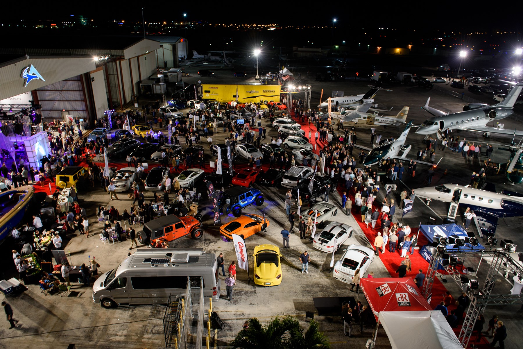 Concours D Elegance And The Hangar Party Friday Feb Sunday - Boca raton car show